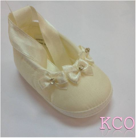 Style FJS018 Ivory~Girls Shoes